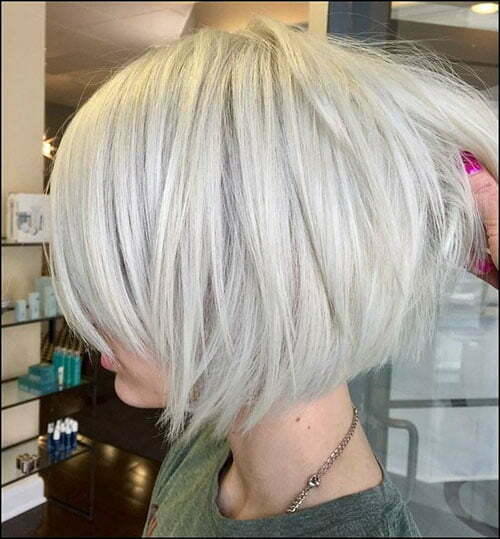 30 New Short White Hair Ideas 2019 Short Haircut Com