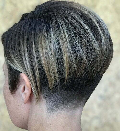 Long Layered Pixie Cut