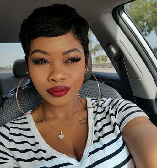 Hairstyles for Short Hair Black Women-28