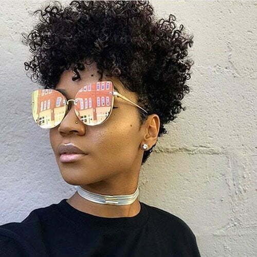 Hairstyles for Short Hair Black Women-29