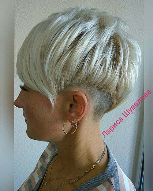 Layered Pixie Haircuts
