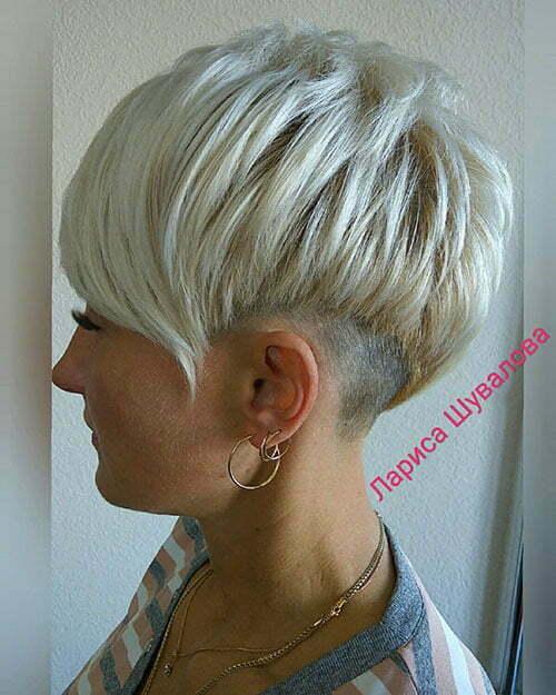 Layered Pixie Haircuts