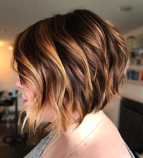 Short Bob Hairstyles For Over 50