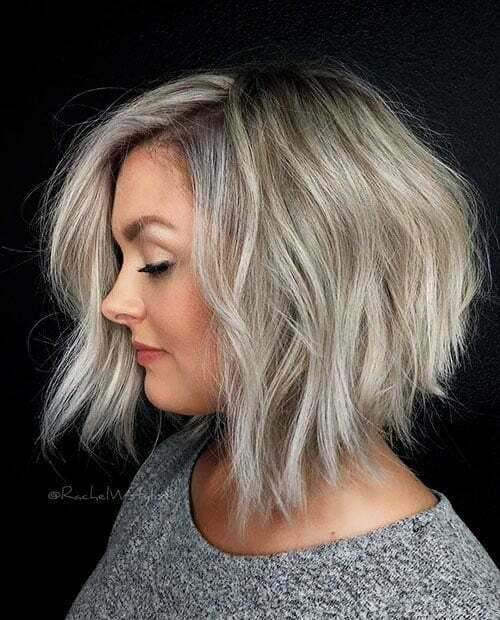 Ash Blonde Short Hair