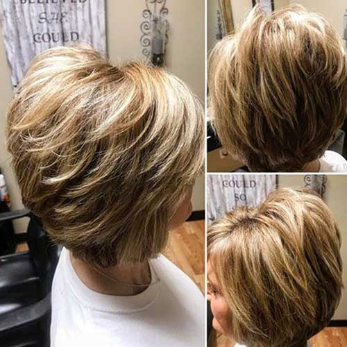 70+ Best Short Layered Haircuts for Women Over 50 | Short-Haircut.com