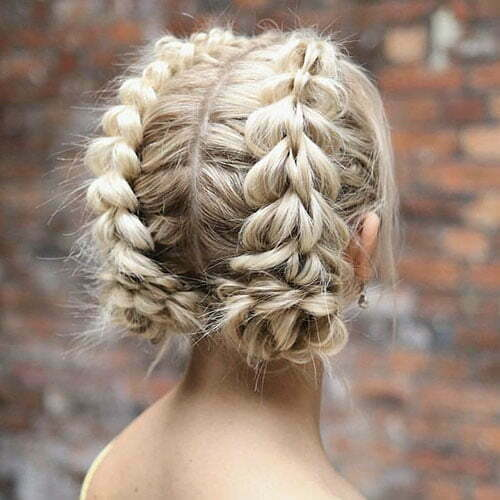 French Braid Styles For Short Hair