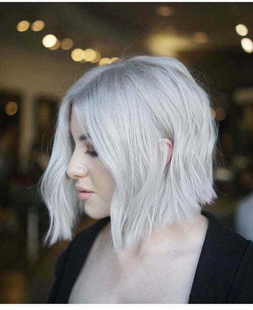 30+ New Short White Hair Ideas 2019 | Short-Haircut.com