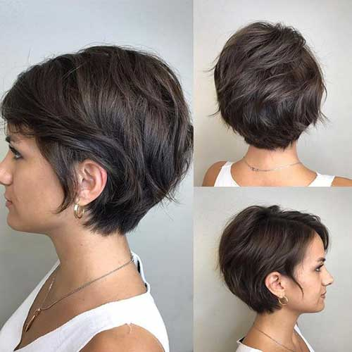 Layered Short Bob Haircuts for Women