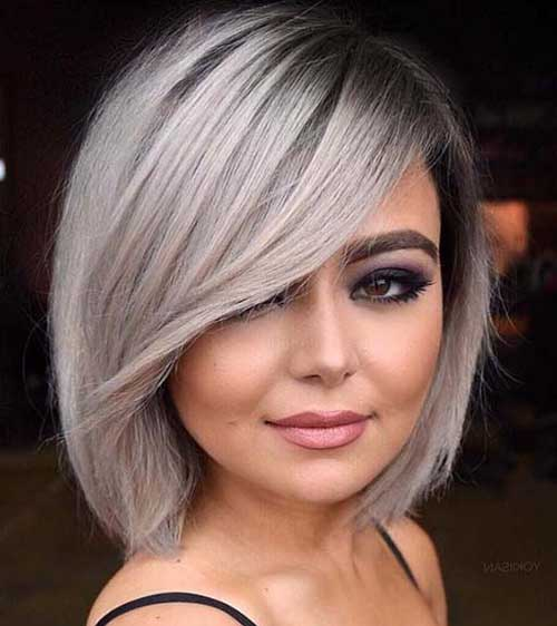 Ash Blonde Hair Color Ideas for Short Hair 2019
