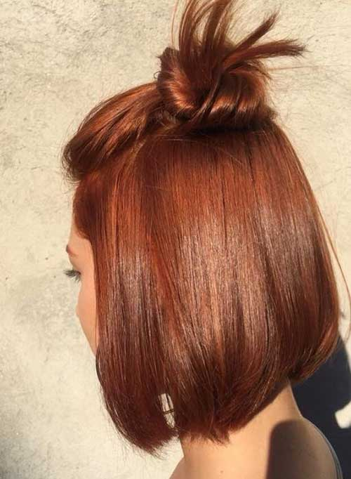 Copper Hair Color Ideas for Short Hair 2019