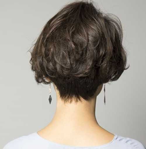 Messy Short Bob Haircuts for Women
