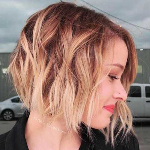 Ombre Hair Color Ideas for Short Hair 2019