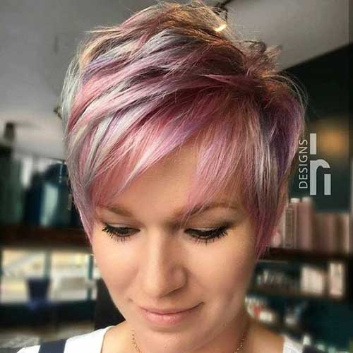 Pixie Hair Color Ideas for Short Hair 2019