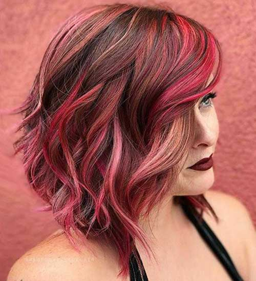 Red Hair Color Ideas for Short Hair 2019