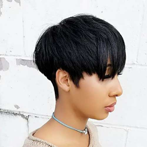 Easy Short Bowl Hairstyles for Black Women