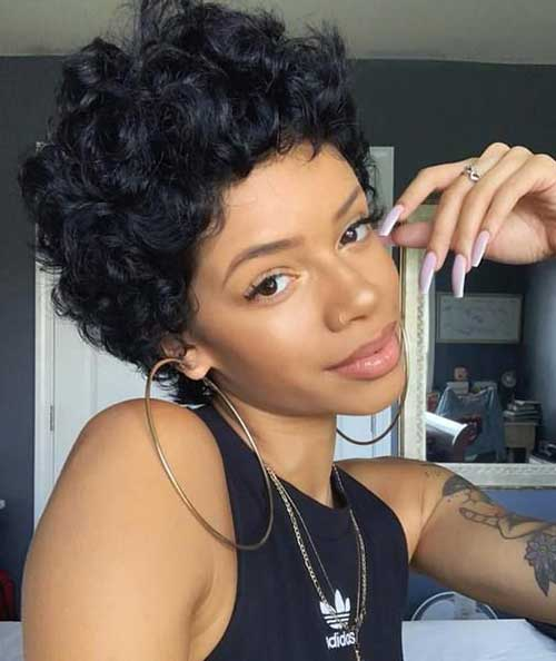 Latest Short Natural Hairstyles for Black Women | Short-Haircut.com