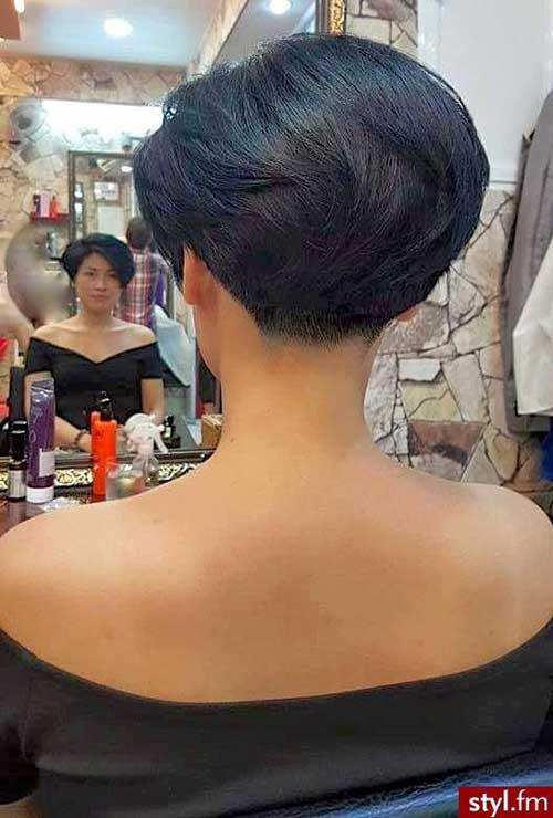 Short Nape Wedge Haircuts