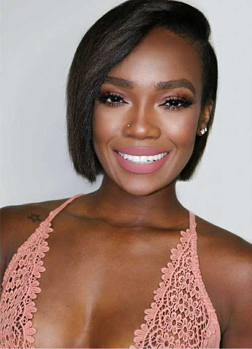 Short Natural Hairstyles for Black Women 2019