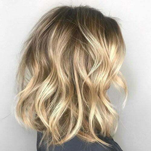 Soft Wavy Bob Hairstyles