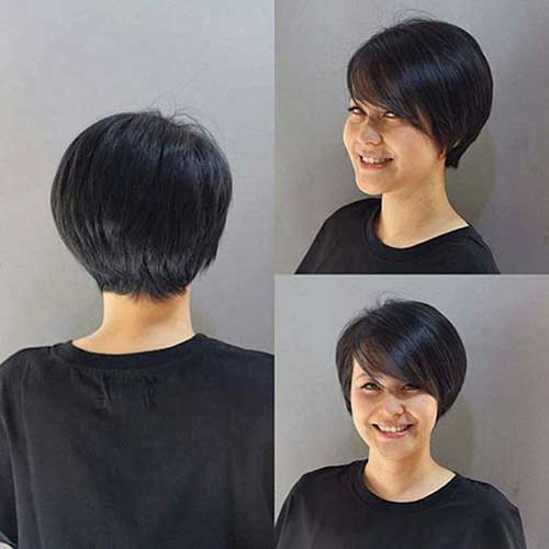 Straight Short Bob Haircuts for Women