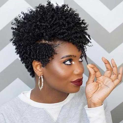 Short Tapered Natural Hair Styles for Black Women