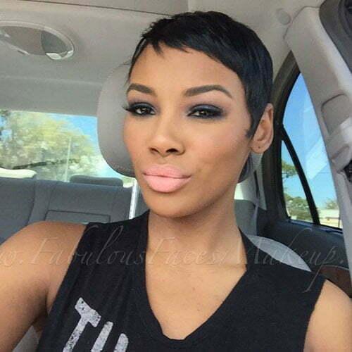 Very Short Hair Black Women