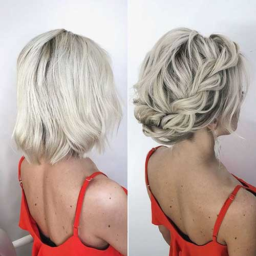 Wedding Short Hair Styles