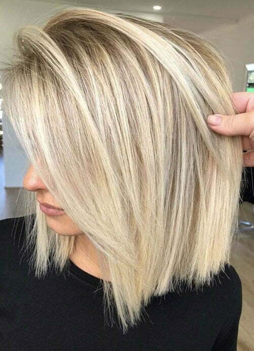 Short Straight Cute Blonde Haircuts-15