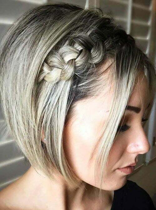 Cute Dutch Braid Hairstyles for Short Hair-20