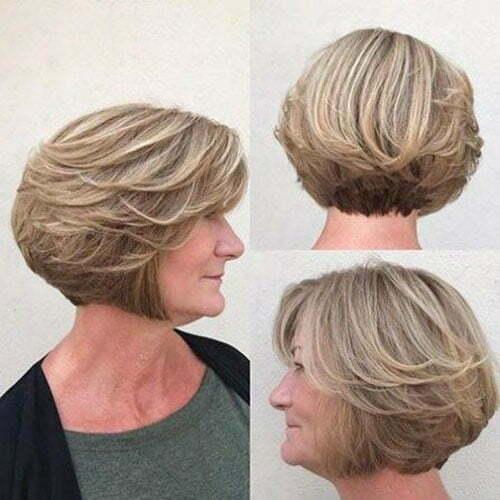 Kurze Frisuren für Frauen über 60