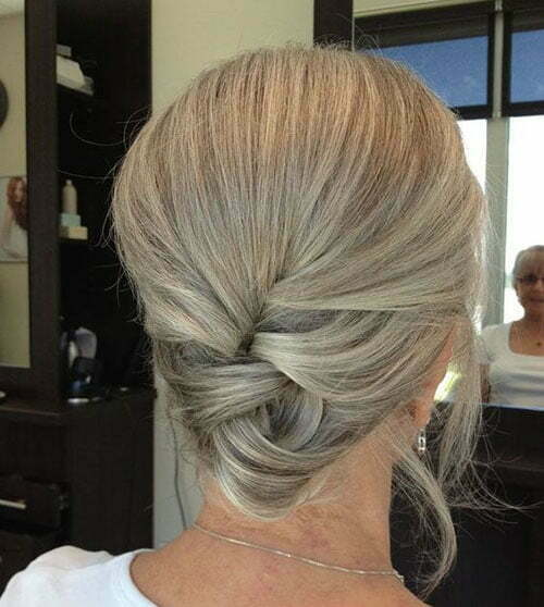Cute Hairstyles for Older Women Short Hair-6