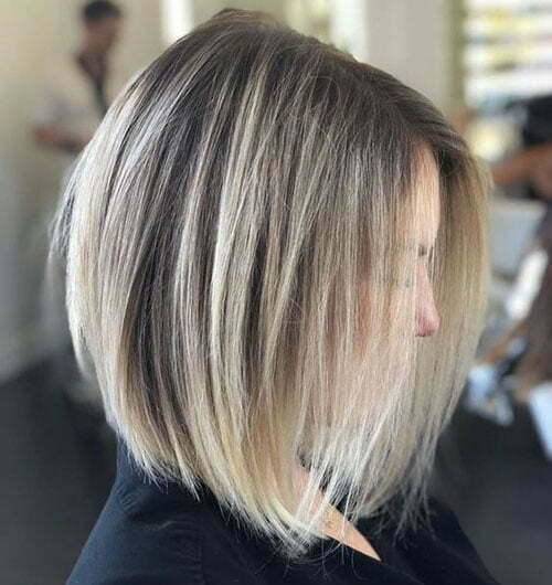 Short Straight Thin Blonde Haircuts-7