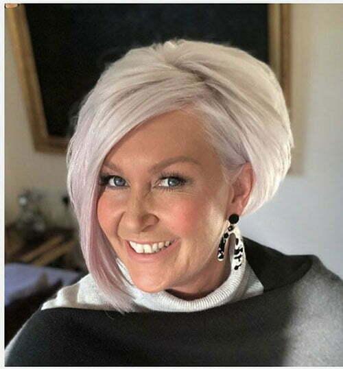 Bob Haircuts für ältere Frauen