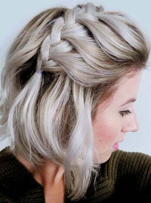 Cute Easy Hairstyles for Short Straight Hair