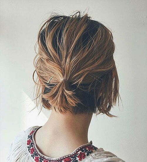 Cute Quick and Easy Hairstyles for Short Hair