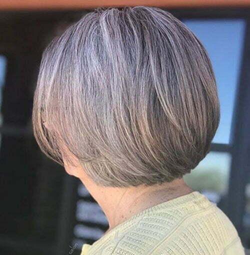 Kurze Bob Frisuren für ältere Frauen