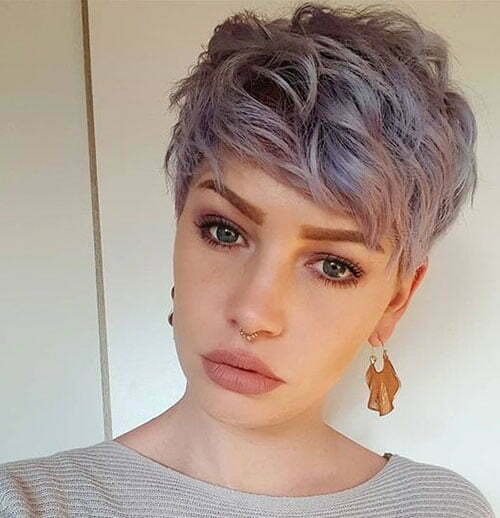 Short Sassy Pixie Cuts