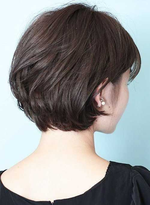 Back View Of Short Layered Haircuts