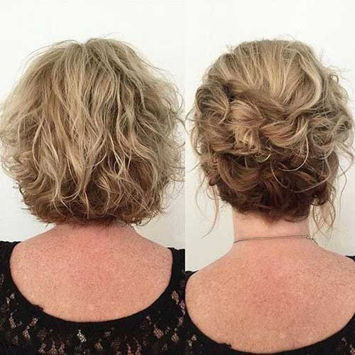 Easy Up Do Hairstyles for Short Hair-10