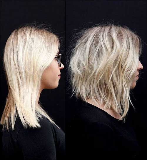 Short Layered Haircuts for Wavy Hair-10