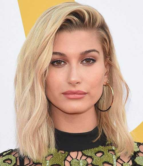 Hailey Baldwin Lob Hair-11