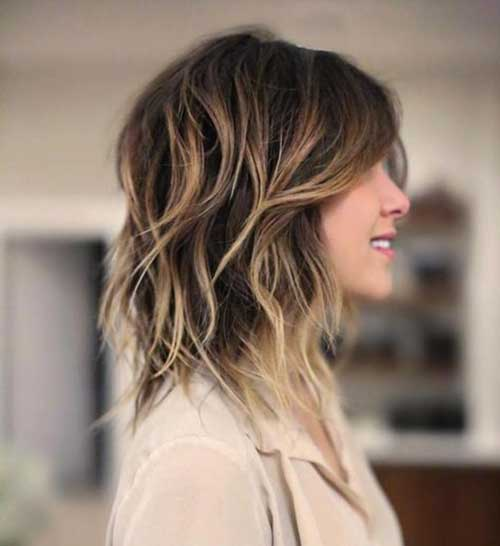 Long Bob Haircuts for Wavy Hair-11