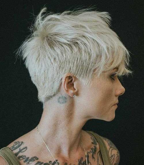 Platinum Blonde Pixie Haircuts-11