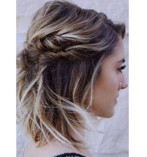 Short formal Twisted Updo Hairstyles-11