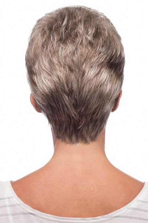 30 Back View Of Short Layered Haircuts Short Haircut Com