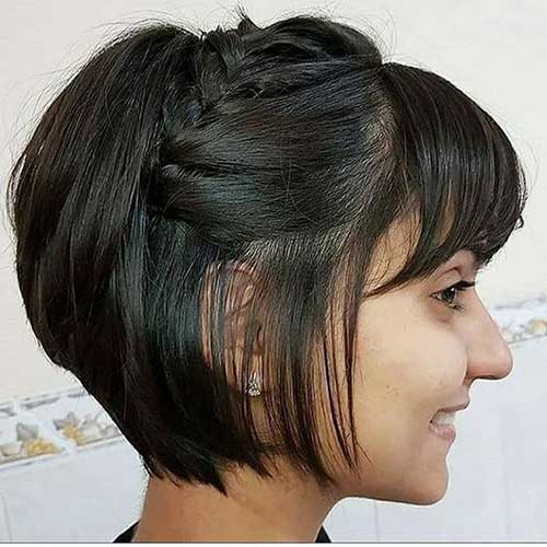 Cute Easy Hairstyles for Short Hair-12