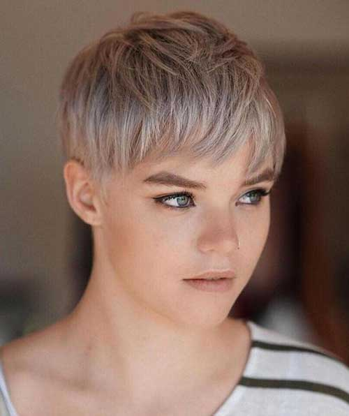 Pixie Ash Blonde Hairstyles-13