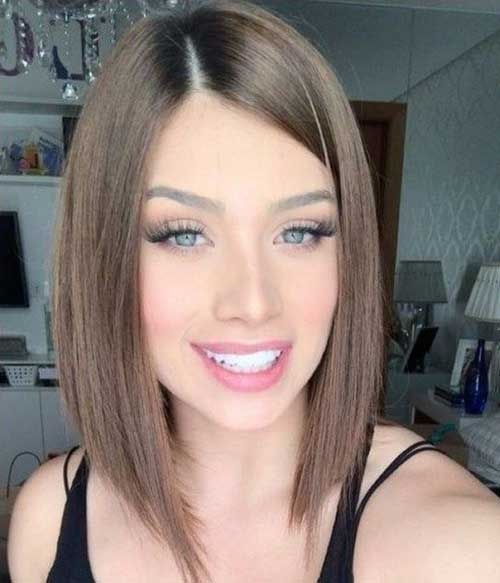 Short Inverted Hairstyles for Thin Hair-13