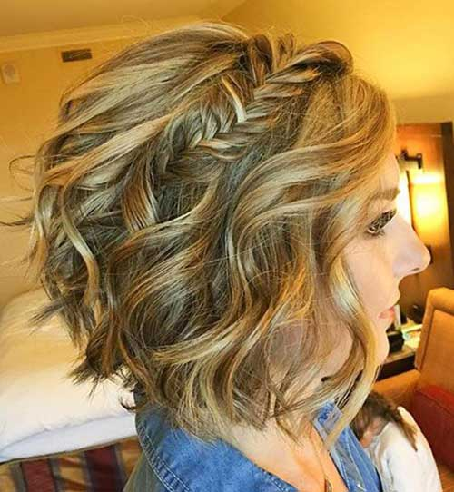 Wedding Hairstyles For Short Bobs: Easy Hairstyles For Short Wavy Hair With Best Ways