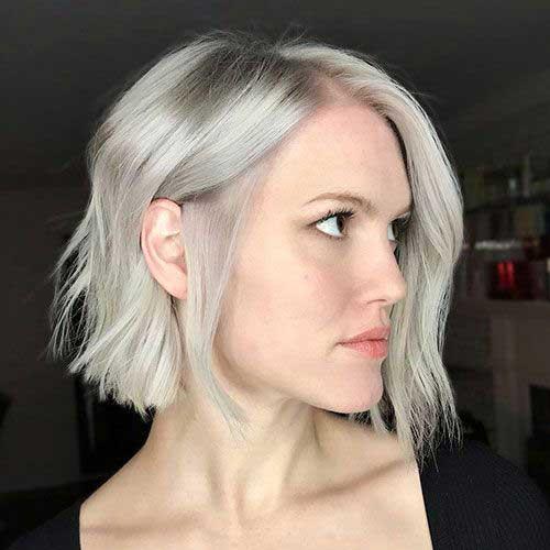 Short Ash Blonde Blunt Hairstyles-15